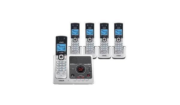Vtech DS6472 – 6 DECT 6.0 Digital 5-handset teléfono inalámbrico sistema de contestador: Amazon.es: Electrónica