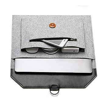 Amazon.com: 13.3 inch Felt Laptop Sleeve Case Fit for Lenovo ...