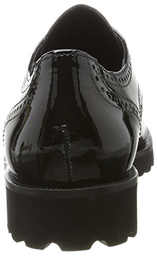 Gabor Ladies Fashion Derbys Black (nero)
