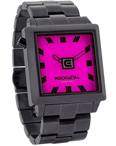 Rockwell Time Women's 40mm2 Watch, Gunmetal/Pink by Rockwell Time
