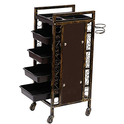 - Salon SPA Trolley with 4 Drawers and 4 Universal Wheels 100% Brand New and Durable Multipurpose Trolley