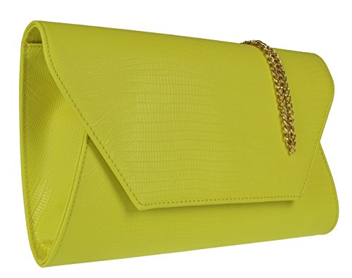 Oversized Handbags Clutch Snake Bag Yellow Girly xw1SfgTUqT