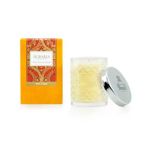 AGRARIA Luxury Woven Crystal Fragrance Bitter Orange Scented Perfume Candle, 3.4 - Bitter Orange Perfume Candle