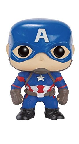 Funko Pop! Marvel: Captain America Civil War Vinyl Action -