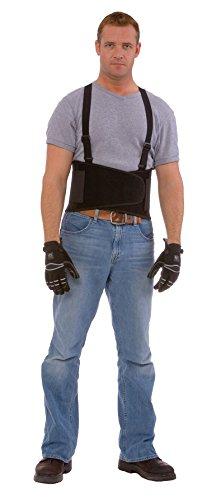 Cordova SB-M Back Support Belt with Attached Suspenders, Black, Medium by Cordova (Image #2)