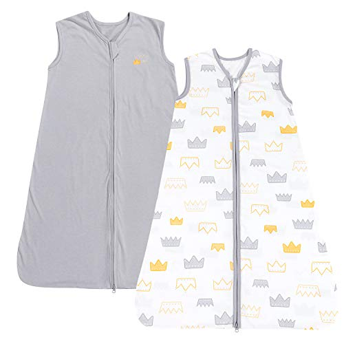 TILLYOU Large L Breathable Cotton Baby Wearable Blanket with 2-Way