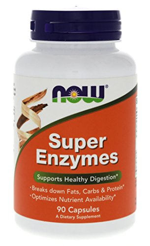 NOW Foods Super Enzymes - 90 - Capsules Digestive 90 Enzymes
