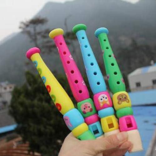 Dandeliondeme Early Education Baby Toy Cartoon Wooden Handheld Tambourine Jingle Percussion Musical Instrument Kids Toy Musical Instrument for Children Random Style