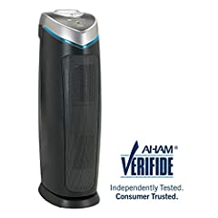 BREATHE FRESH AND CLEANER AIR GermGuardian air purifiers kill germs and viruses, filter odors, and trap allergens with a True HEPA filter and optional UV C light to deliver crisp, refreshing air to your home. POWERFUL AND CUSTOMIZABLE, you're...