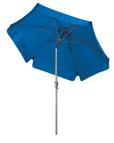 California Umbrella Aluminum Fiberglass Champagne