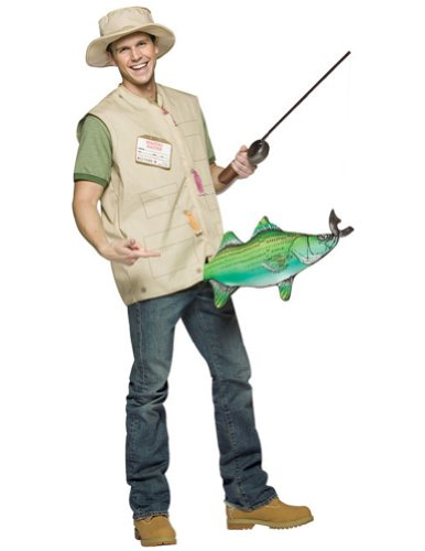 [Morris Costumes - Catch Of The Day - Standard] (Fisherman Costume)