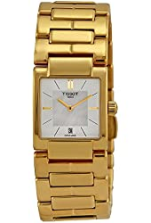Tissot T-Trend Mother of Pearl Dial Stainless Steel Ladies Watch T0903103311100