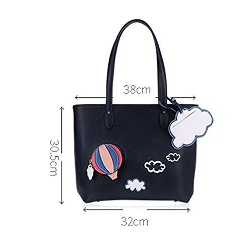 ZCJB Damen Handtasche Reisetasche Messenger Top-Griff Umhängetaschen Lady Bags