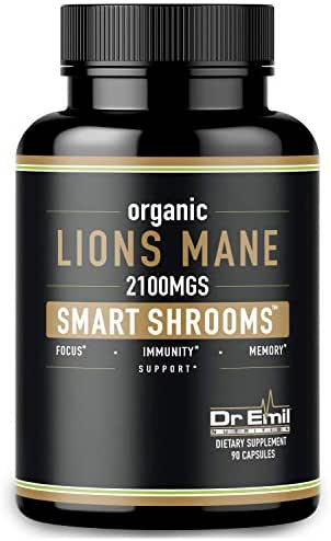 Vitamins & Supplements: Dr. Emil Lions Mane Mushroom