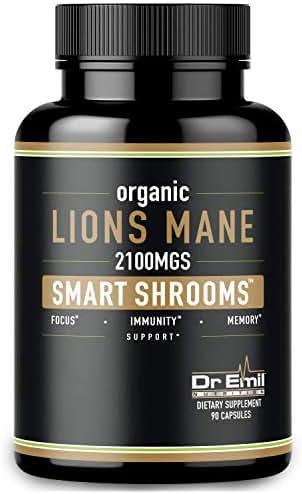Vitamins & Supplements: Dr. Emil Lions Mane Mushroom