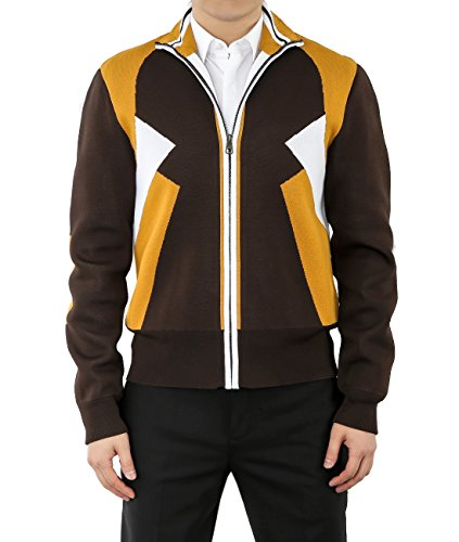 wiberlux-neil-barrett-mens-color-blocked-zip-up-knit-jacket-l-brown