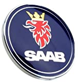 OES Genuine''SAAB'' Hood Emblem - 50mm Diameter