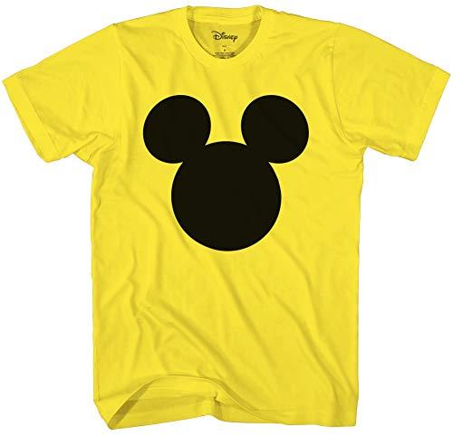 Disney Mickey Mouse Head Silhouette Men