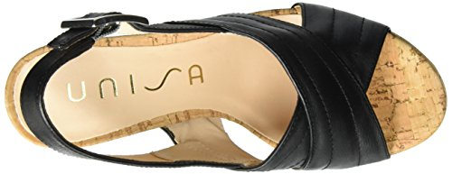 for sale official site Unisa Women's Velia_st Wedge Heels Sandals Black (Black) cheap price outlet 1aUecx