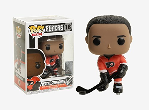 (Funko POP NHL: Wayne Simmonds  (Home Jersey) Collectible Vinyl Figure)