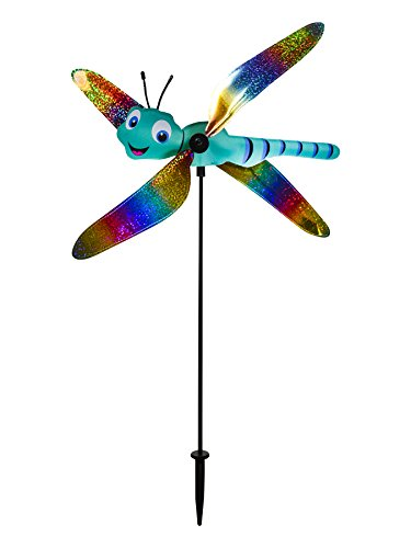 In the Breeze 2555 Baby Whirligig Wind Spinner, Dragonfly (Dragonfly Whirligig)