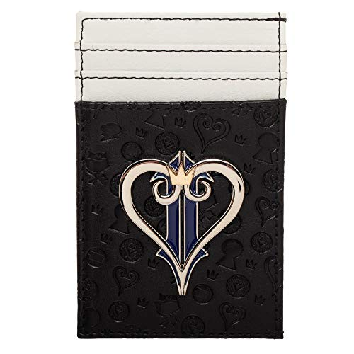 Kingdom Hearts Wallet Gift for Gamers Kingdom Hearts Accessory - Front Pocket Wallet Kingdom Hearts ()