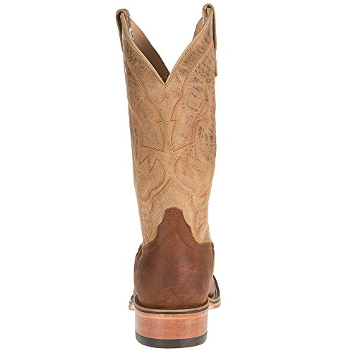Nrs Anderson Bean Hombre Ride Ready Briar 13in Bone Cabra Top Cowboy Botas Marrón
