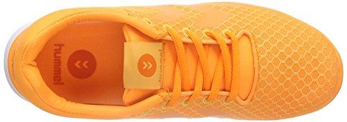 Hummel Effectus Breather - Zapatillas Unisex adulto Orange (Orange Pop 3651)