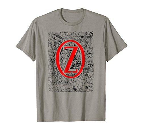 (OZ Character Montage-Lion,Scarecrow,Dorothy,Tin Man Shirt)
