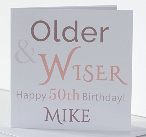 Personalised Birthday Card For Him Dad Father Brother Nephew Son Husband Friend In Law Uncle Grandad Age 18th 21st 30th