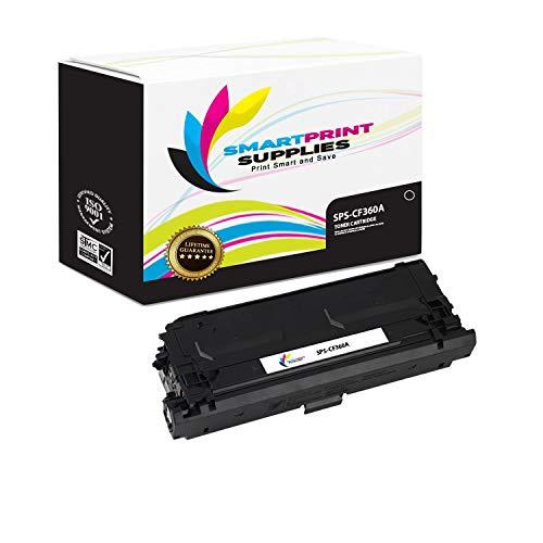 (Smart Print Supplies Compatible 508A CF360A Black Toner Cartridge Replacement for HP Laserjet Enterprise M552 M553 MFP M577 Printers (6,000 Pages))