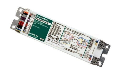 Lutron EC5-T832-G-UNV-3L (3) 32 Watt 48 Inch F32T8 Lamp High Frequency Ballast With Integral Sensor Connection With Power and Lead Lamp 120/240/277 Volt AC EcoSystem by Lutron (Image #1)
