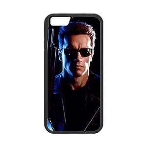 Terminator 002 funda iPhone 6 Plus 5.5 Inch Negro de la cubierta del teléfono celular de la cubierta del caso funda EVAXLKNBC17661