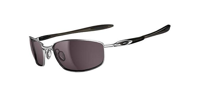oakley mens blender sport non polarized sunglasses  oakley men's blender sport non polarized sunglasses,lead frame/warm grey lens,