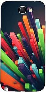 De Snoogg Colorido York Diseñador Protectora Volver Funda Para El Samsung Gal...