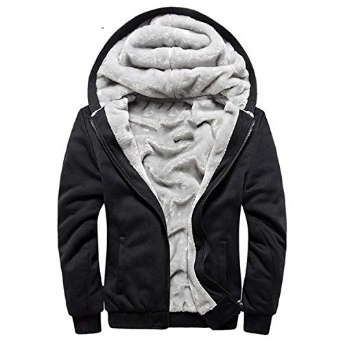 Européen Sportwear Épais Polaire Mâle Survêtement Pour Grey Chaud Veste Hiver Auspiciousi Hoodies Zipper Manteau W11 Hommes Bomber qvwxORCBp