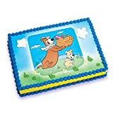 Yogi Bear and Boo Boo Edible Image Cake Topper