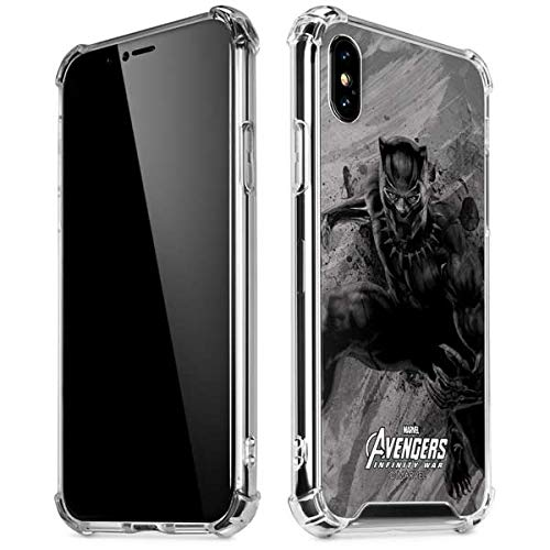 new concept 165f5 1d7dd Amazon.com: Skinit Black Panther Chroma iPhone XR Clear Case ...