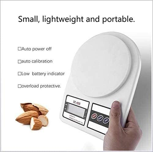 ZZXXB Bilance da Cucina, bilance da Cucina Digitale Portatile House Kitchen Digital Scala del Peso di Equilibrio grammo Judith (Size : 1kg/0.1g)