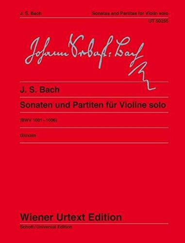 Bach: 6 Sonatas and Partitas for Solo Violin, BWV 1001-1006