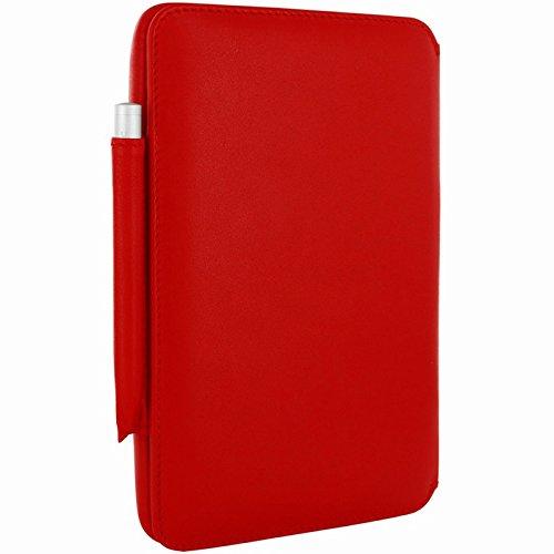 "Piel Frama ""Imagnum"" Leather Case for HTC Flyer, Red (539R)"