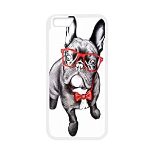 UNI-BEE PHONE CASE For Apple Iphone 6 Plus 5.5 inch screen Cases -Funny Dog,Dogs-CASE-STYLE 6