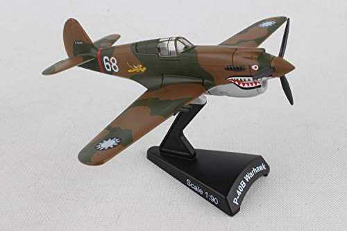 Daron Worldwide Trading P-40 Warhawk Hell's Angels 1:90 - Flying Airplane Tiger
