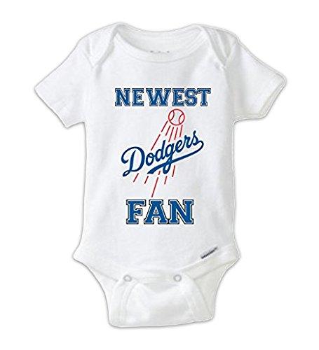 Dodgers Fan - Newest Dodgers Fan Baby Bodysuit, Dodgers Baby Onesie (6-9 Months)