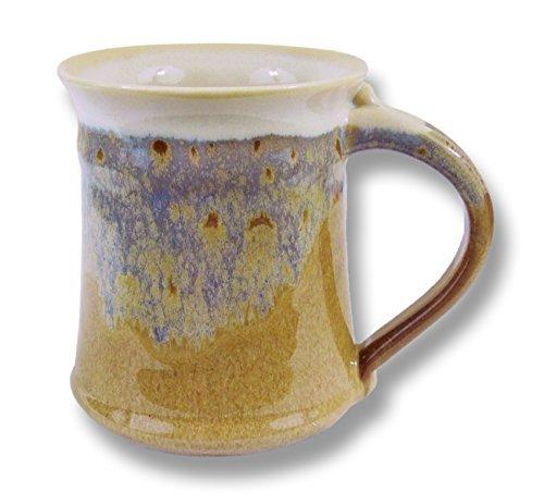 (Clay In Motion Handmade Ceramic Medium Mug 16oz - Desert Sand)