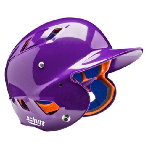 Schutt Sports AiR 5.6 Softball Batter's Helmet, Metallic Purple, Small - Batting Helmet Fit