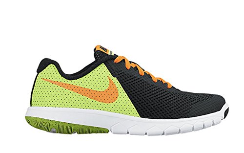 Nike Flex Experience 5 (GS), Scarpe da Corsa Uomo Black (Nero / Total Orange-volt-white)