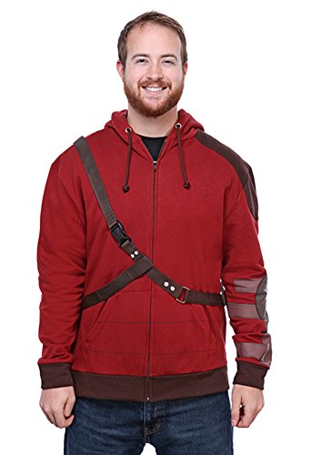 Star Details Costume Lord (Marvel Guardians of the Galaxy Adult Star-Lord Hoodie:)