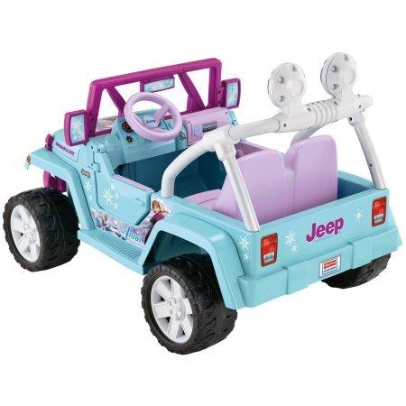 frozen jeep power wheels manual