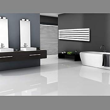 S/èche-serviettes Radiateur pour salle de bain 480 x 1600 mm Chrome ECD Germany Radiateur /à panneaux Stella Design